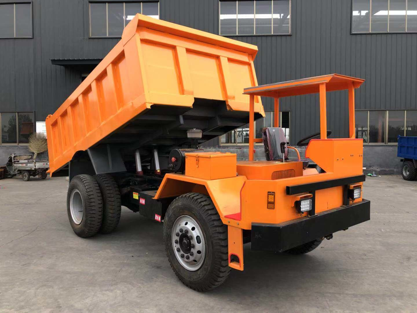 LN22160 12T Industrial Dump Truck With 118KW Engine Power And 6.3m3 Boxes Volume